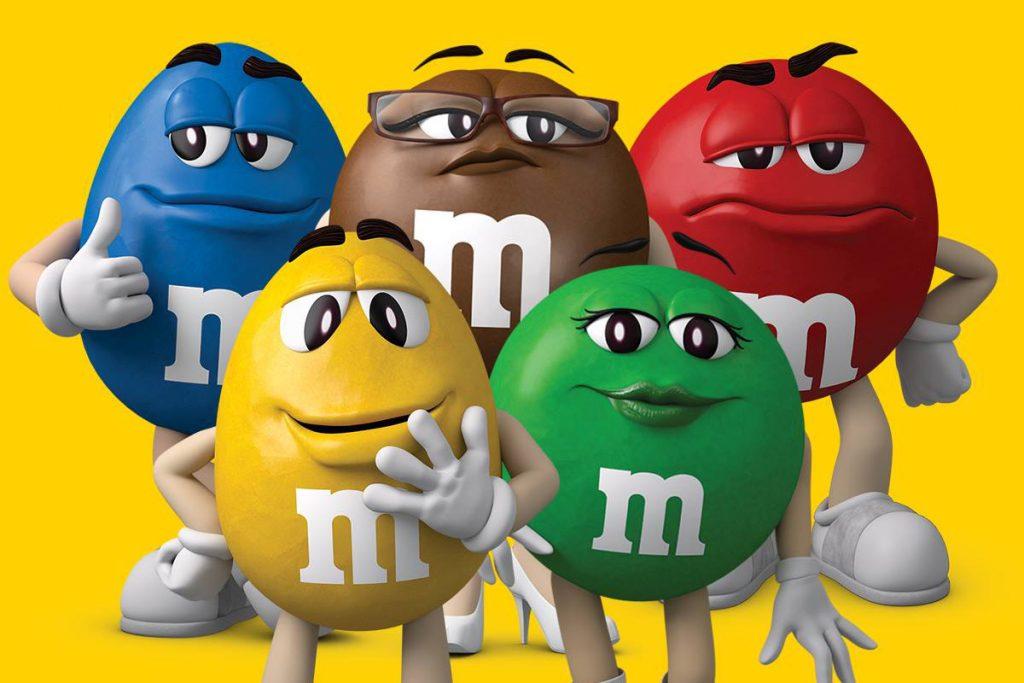 Легенда бренда M&M's