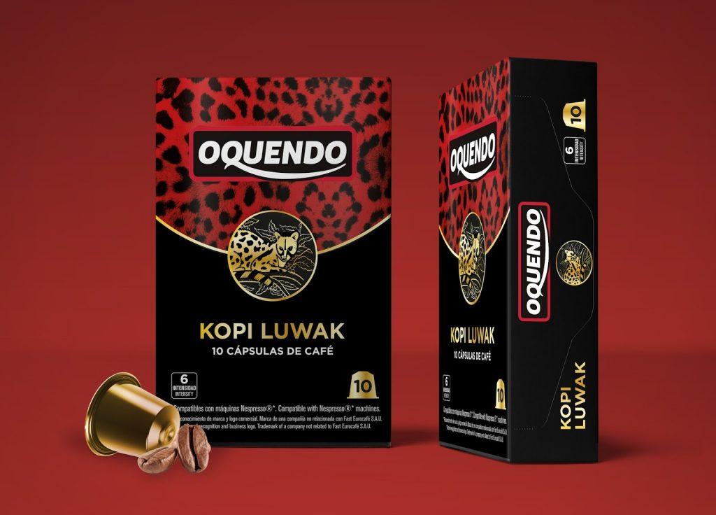 Дизайн упаковки кофе Kopi Luwak