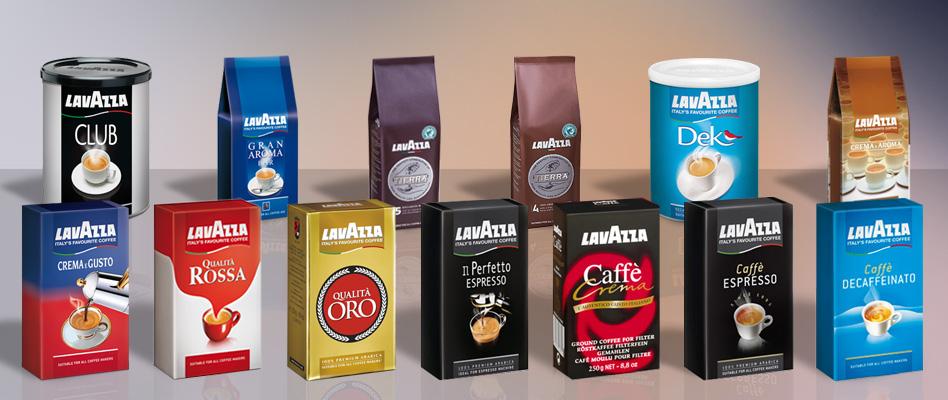 Дизайн упаковки кофе Lavazza