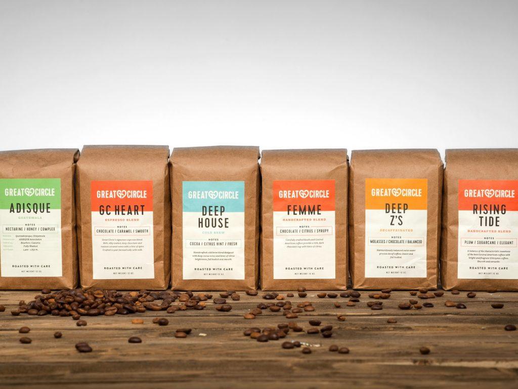 Конструкция упаковки кофе