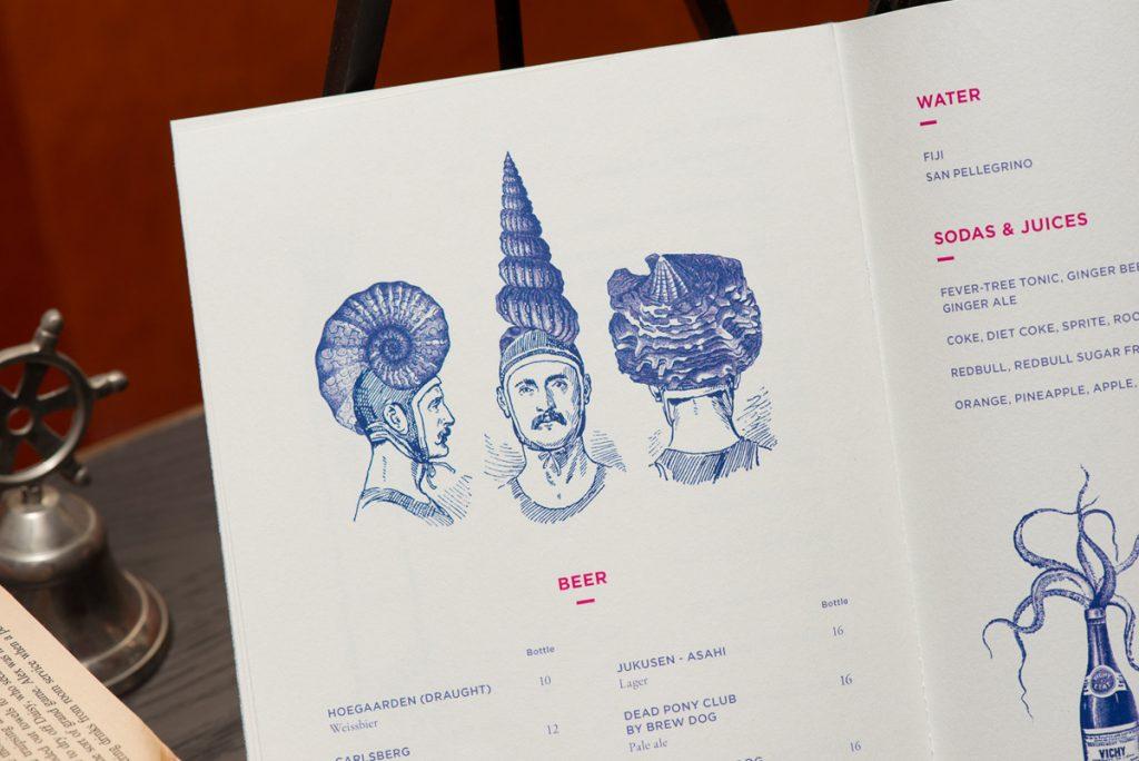 меню для ресторана стоимость