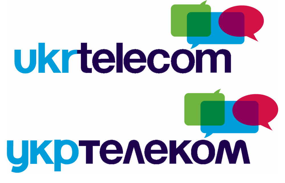 Разработка логотипа Укртелеком в Украине