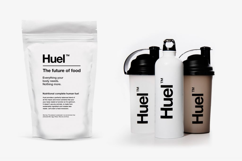 Huel упаковка брендинг