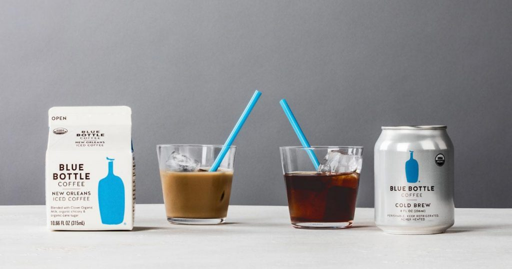 Blue Bottle Coffee упаковка