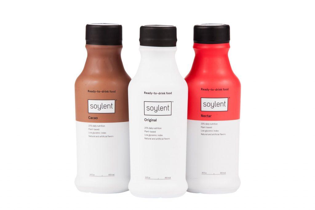 Soylent упаковка дизайн
