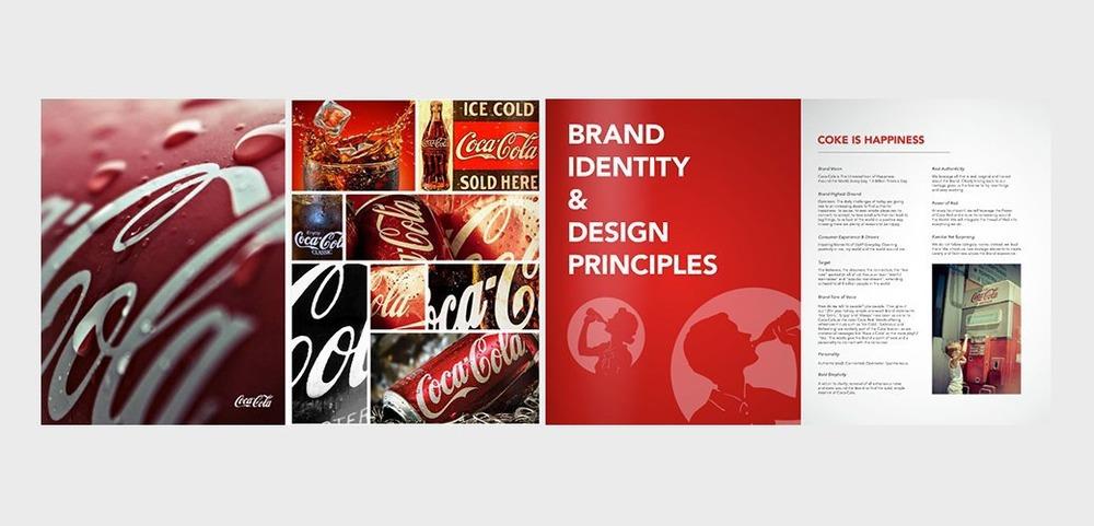 Пример брендбука: Coca Cola