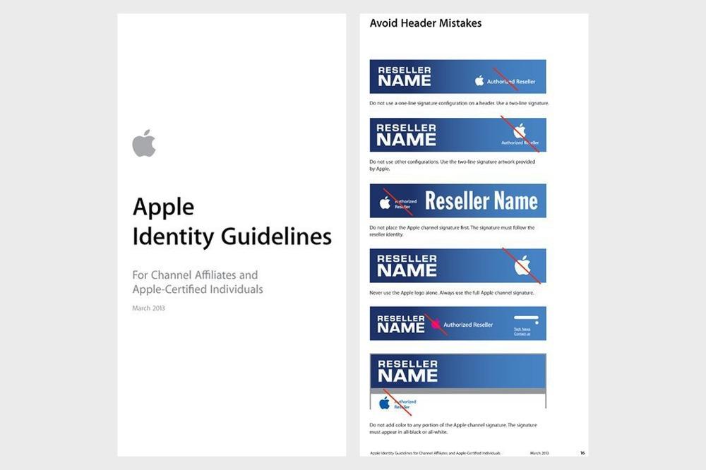 Пример гайдлайна: Apple