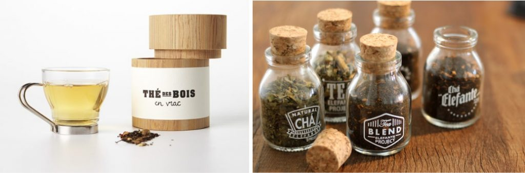 Упаковку для чая можно делать не только из картона