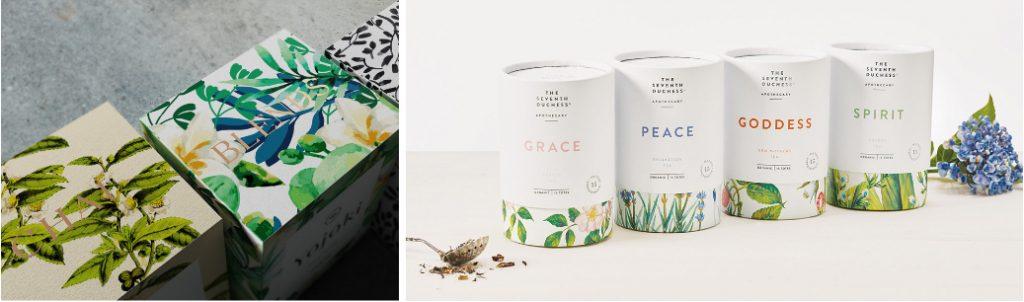 Классическая упаковка чая