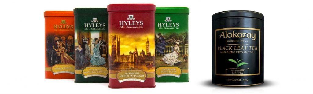 Примеры дизайна упаковки элитного чая