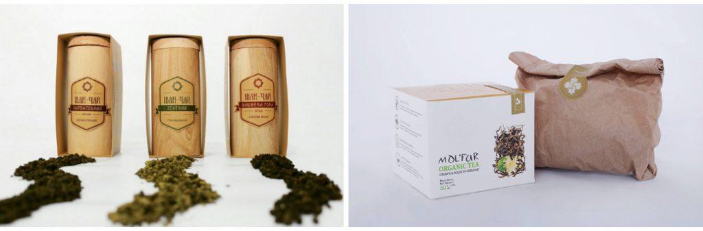 Примеры авторского дизайна упаковки чая