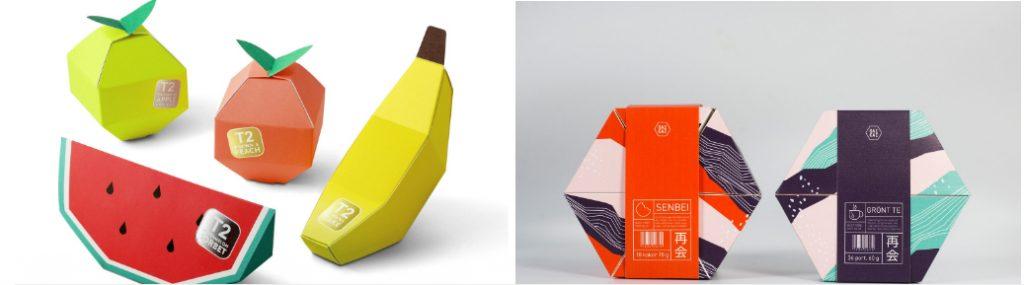 Примеры нестандартного дизайна упаковки чая